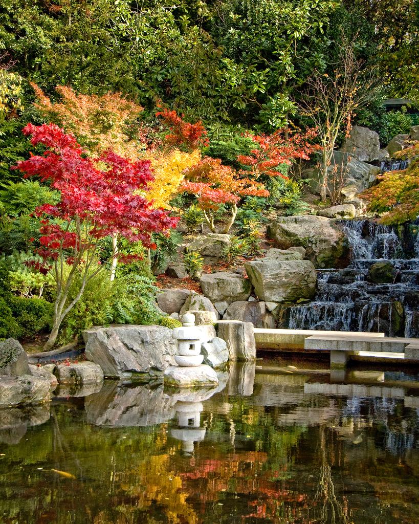 Holland park for Landscape gardeners