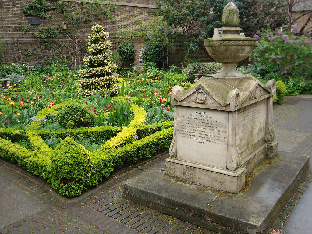 Garden museum formerly museum of garden history - What time does victoria gardens open ...