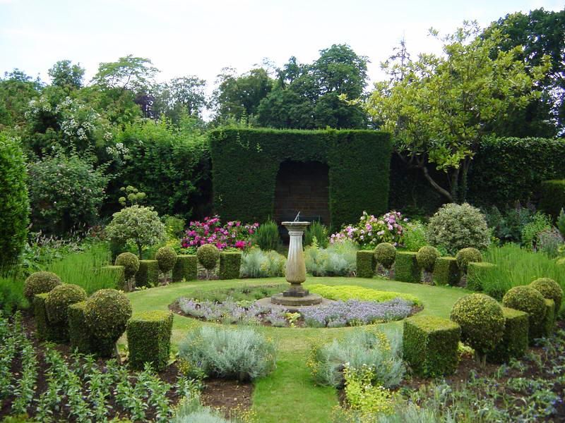 Holdenby house gardens and falconry centre House garden pics