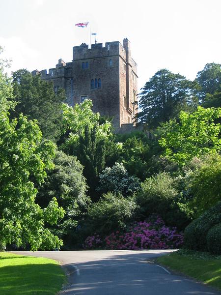 Dunster Castle Garden John Pailing