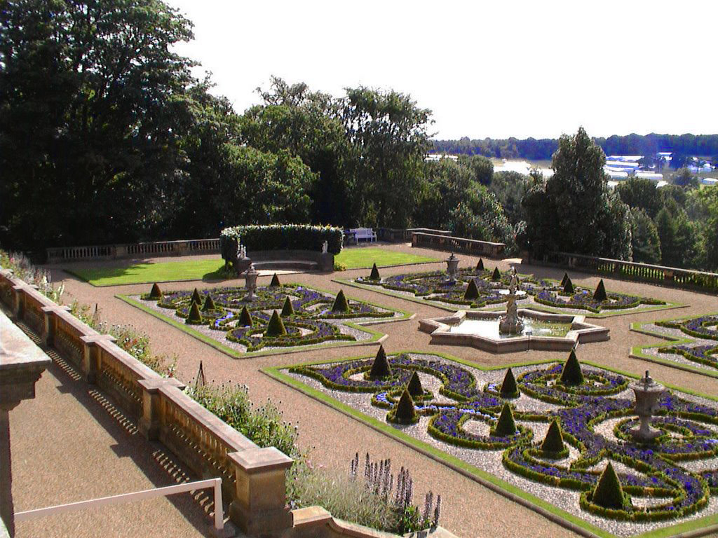 Yorkshire gardening and building container gardening ideas for Harewood house garden design