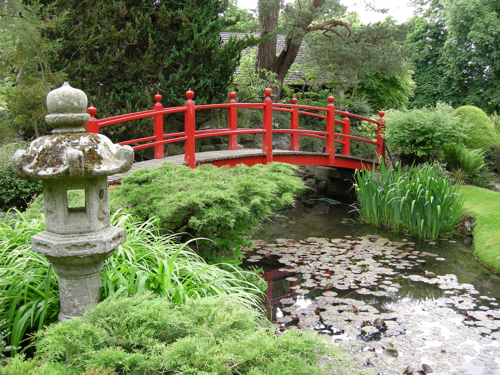 Japanese Gardens At The Irish National Stud