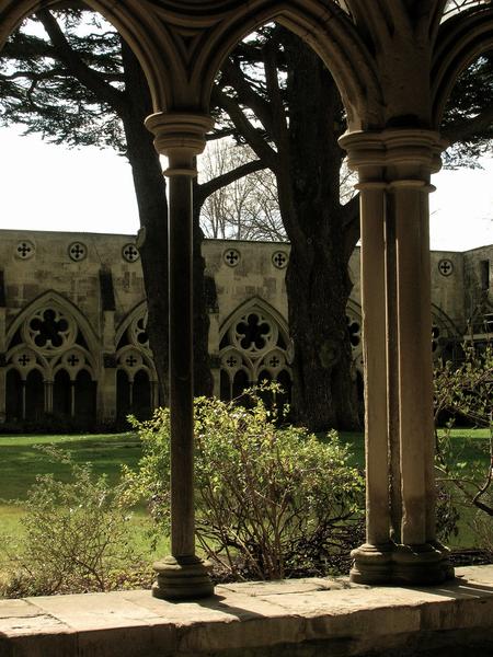 Salisbury Cathedral Cloister Garden Tehmina Goskar
