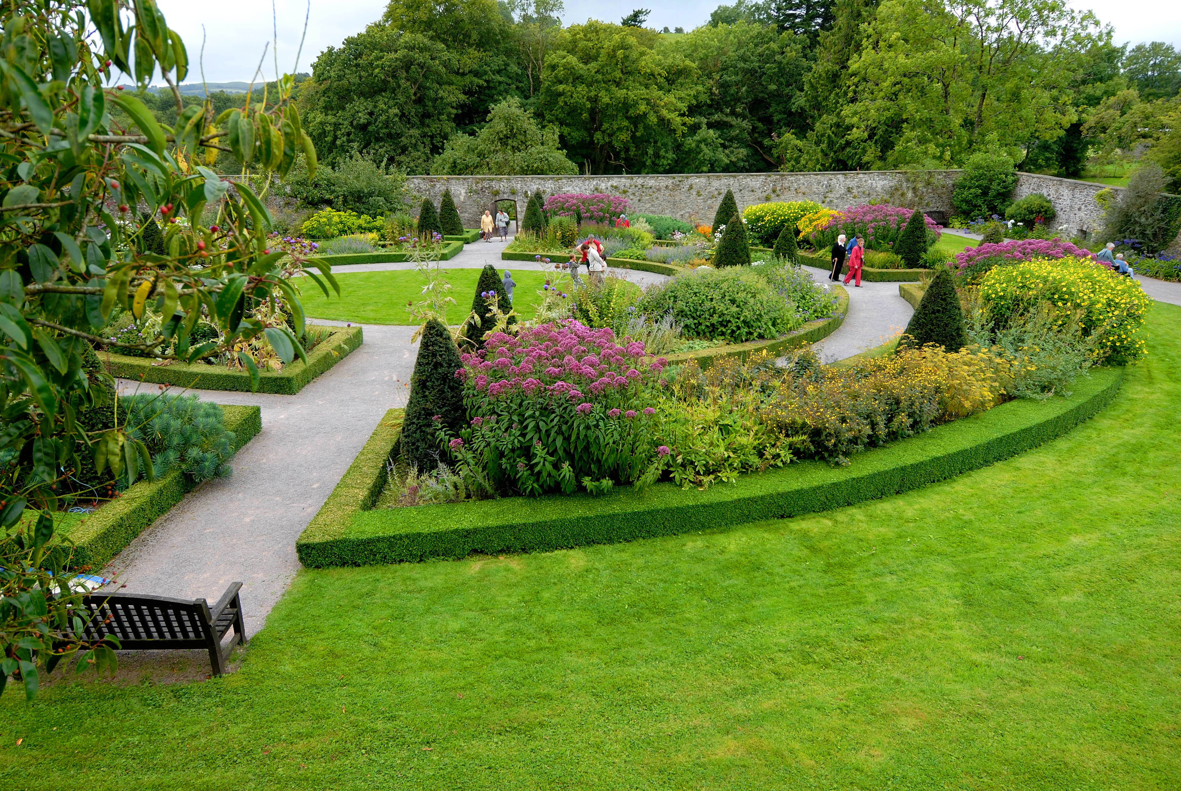 Aberglasney gardens for Gardening and landscaping