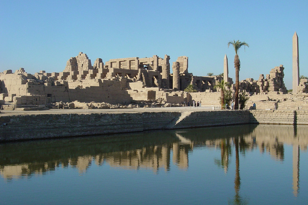 Temple of Karnak Nick Leonard
