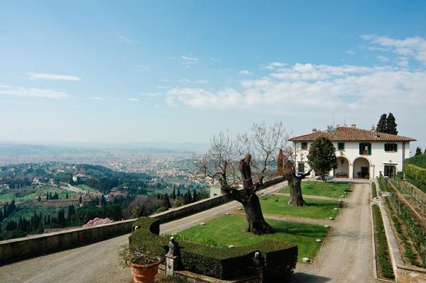 Villa Medici, Fiesole, Garden Ray Streeter