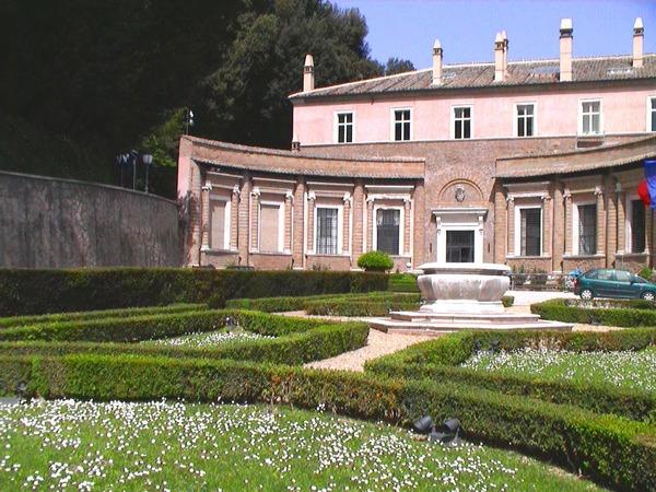 Villa Madama Garden Gardenvisit.com