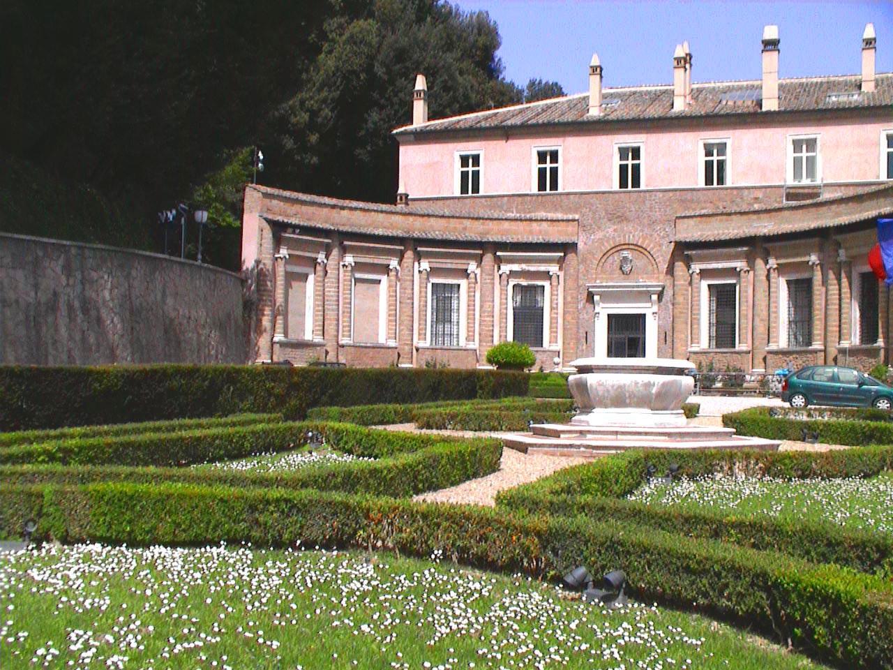 Villa madama garden for Villa garden