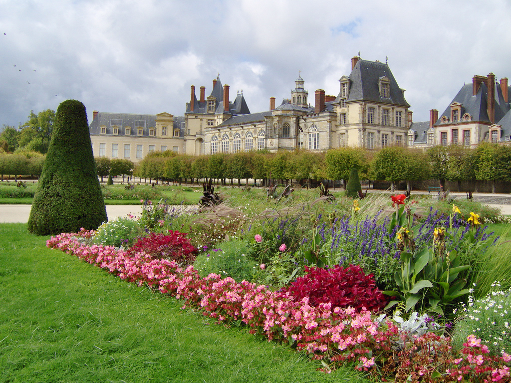 Chateau de fontainebleau for France jardin