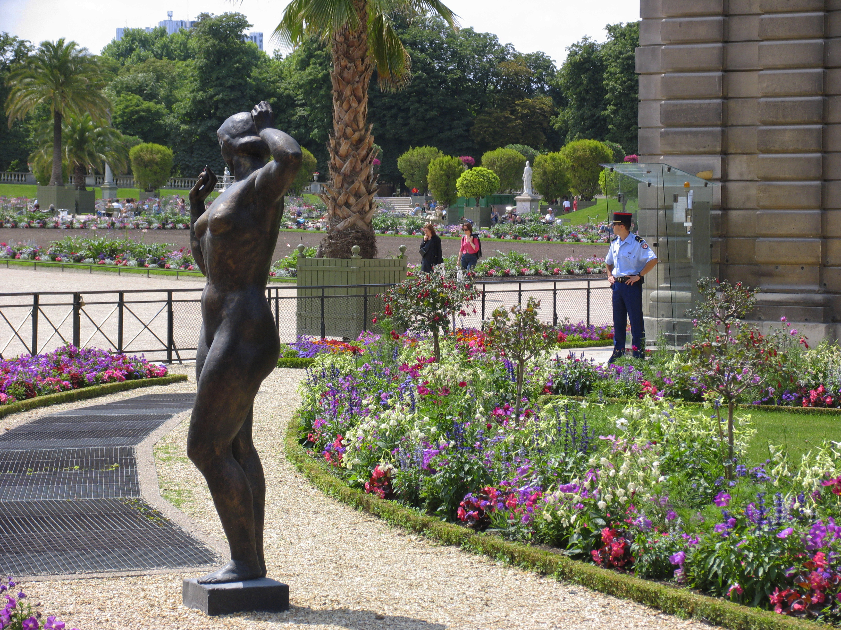 jardin du luxembourg. Black Bedroom Furniture Sets. Home Design Ideas