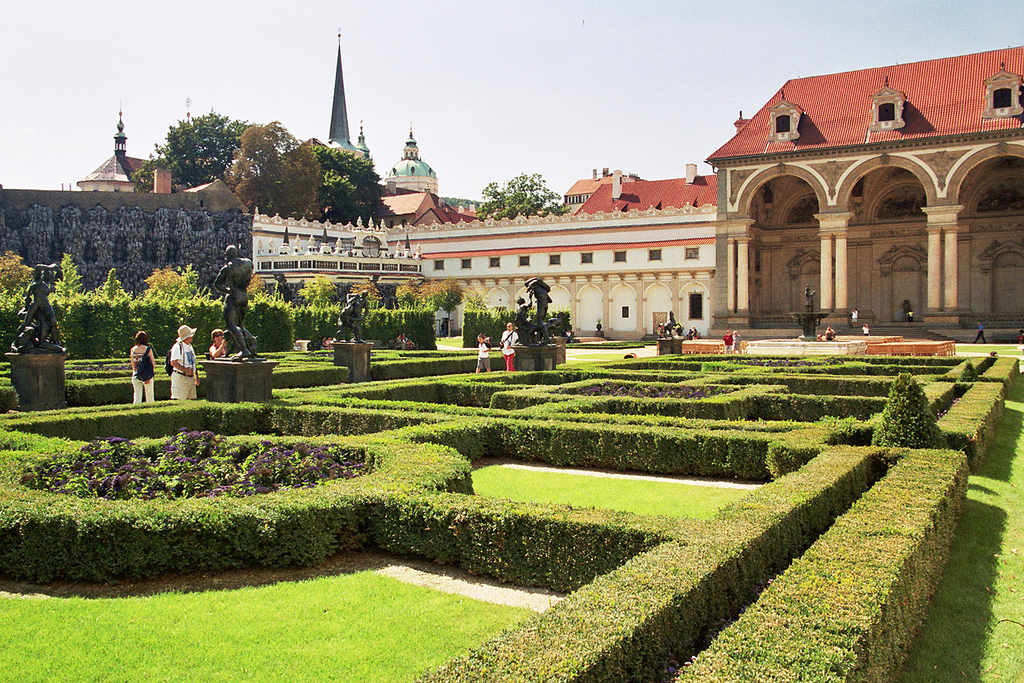 Wallenstein garden czech republic for Jardin wallenstein prague