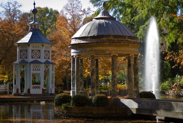 Jardin del Palacio de Aranjuez Albert