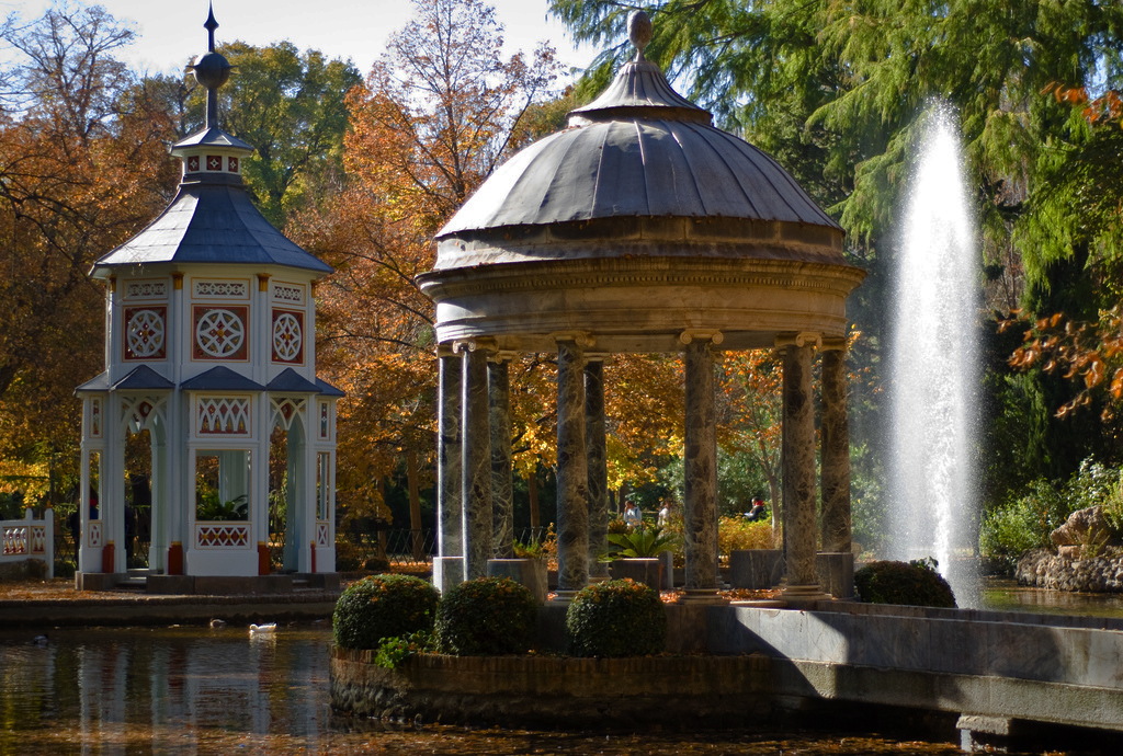 Jardin del palacio de aranjuez for Restaurante jardin del principe en aranjuez