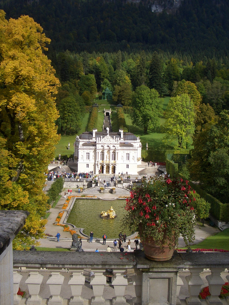 Schlosspark Linderhof Daniel Hüneborg