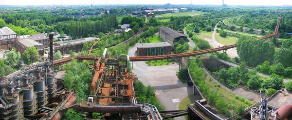 Duisburg Nord Landschaftspark duimdog