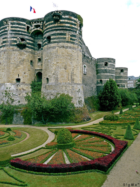 Chateau d'Angers Jardin Sigma