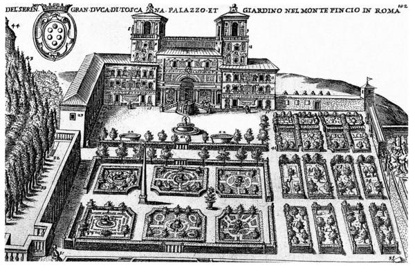 Villa Medici Rome (Academie Francaise) Gardenvisit.com