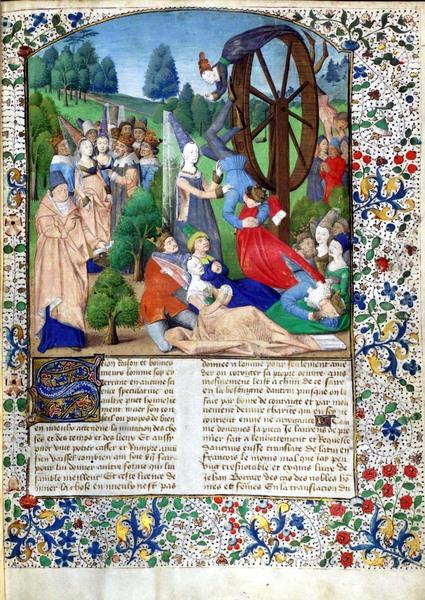 Villa Palmieri Boccaccio De Casibus Virorum Illustrium 1467