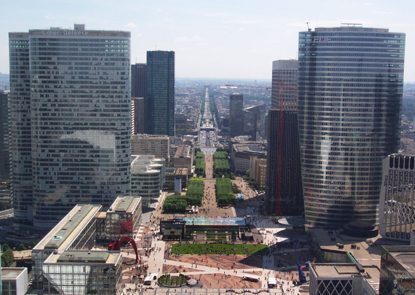 La Defense Paris Thomas Faivre-Duboz
