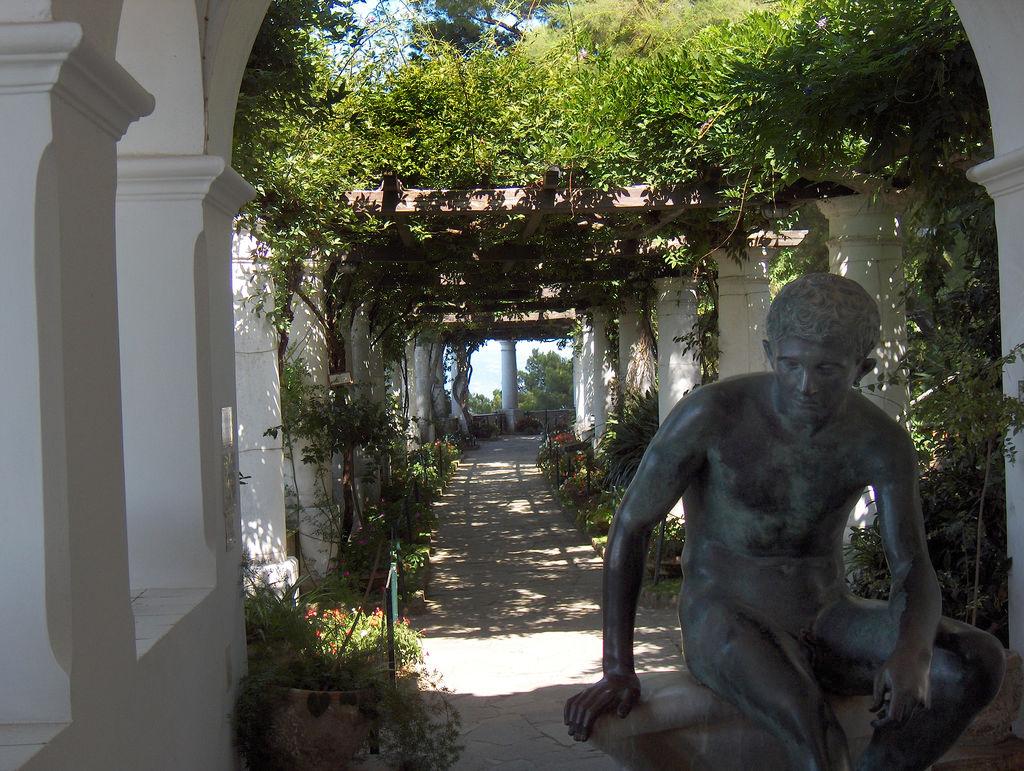 Villa San Michele Axel Munthe Garden