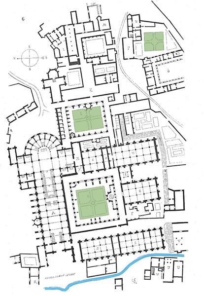 Clairvaux Abbey Gardenvisit.com