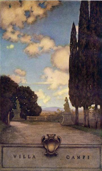 Villa Campi Maxfield Parrish