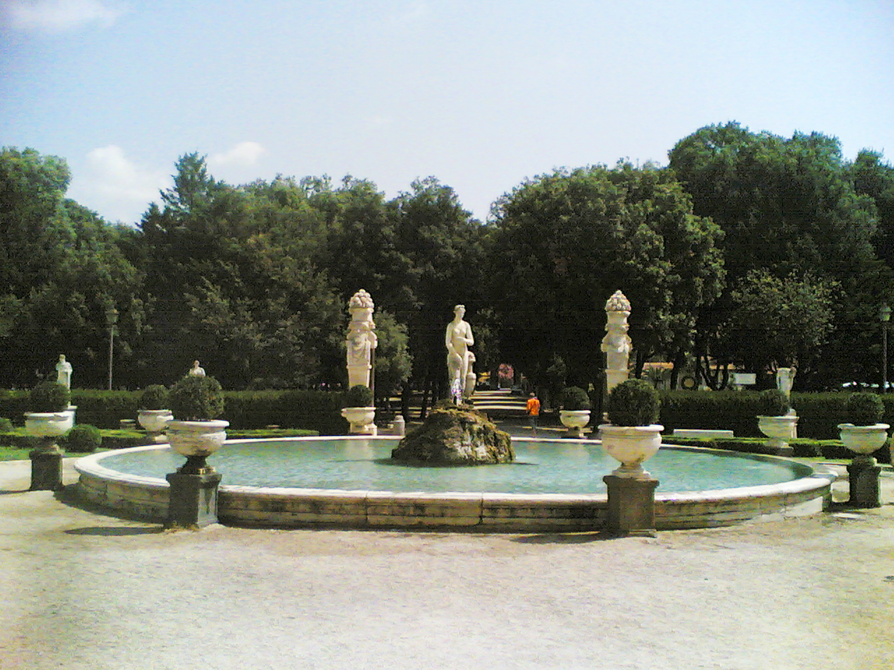 Pictures Of Water Fountains In Gardens