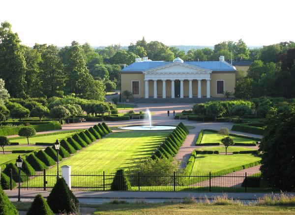 Uppsala Botanic Garden Henry Law