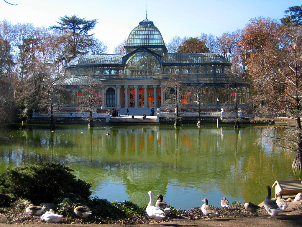 Parque del buen retiro for Parques de madrid espana
