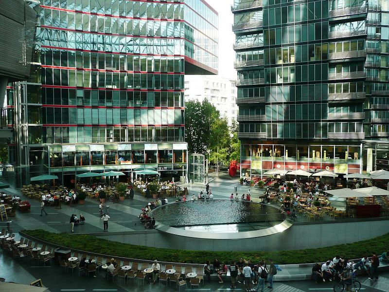 Sony center berlin for Designhotel potsdam