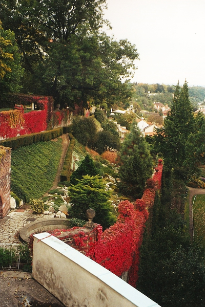 Gardens beneath Prague Castle geradsmith