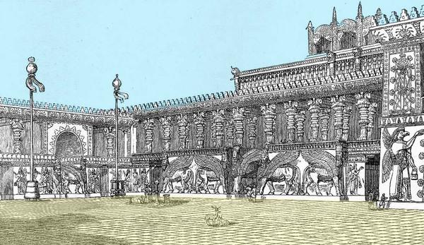 Sargon II's Palace Dur-Sharrukin Gardenvisit.com