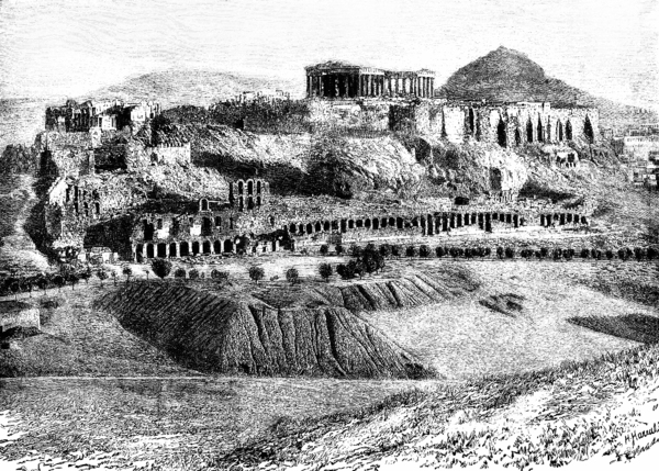 Acropolis, Athens Robert Wallace