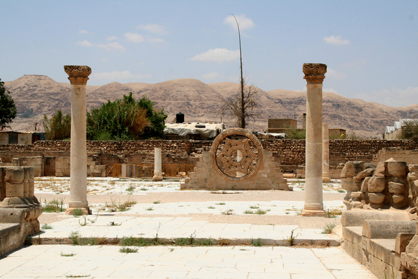 Khirbat al-Mafjar - Hisham's Palace Michael