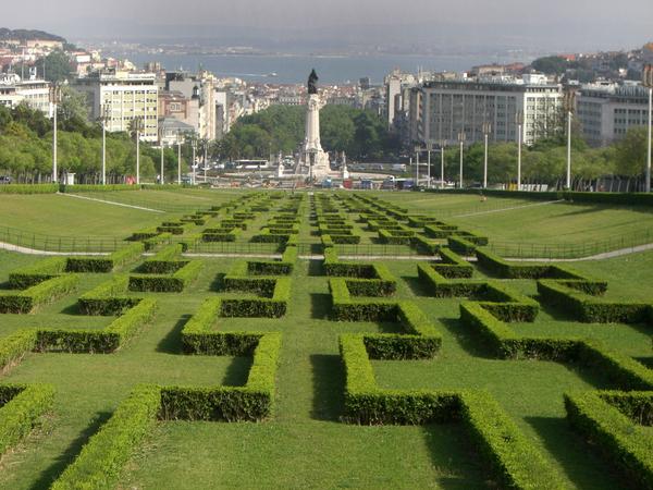 Eduardo VII Park, Lisbon Adam Lederer