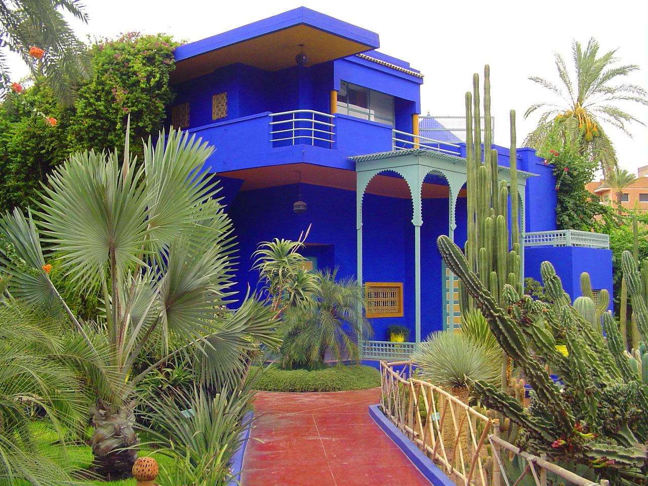 Morocco Home Decor Majorelle Garden