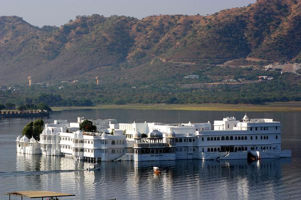 Udaipur Lake Palace Sanjib Mitra