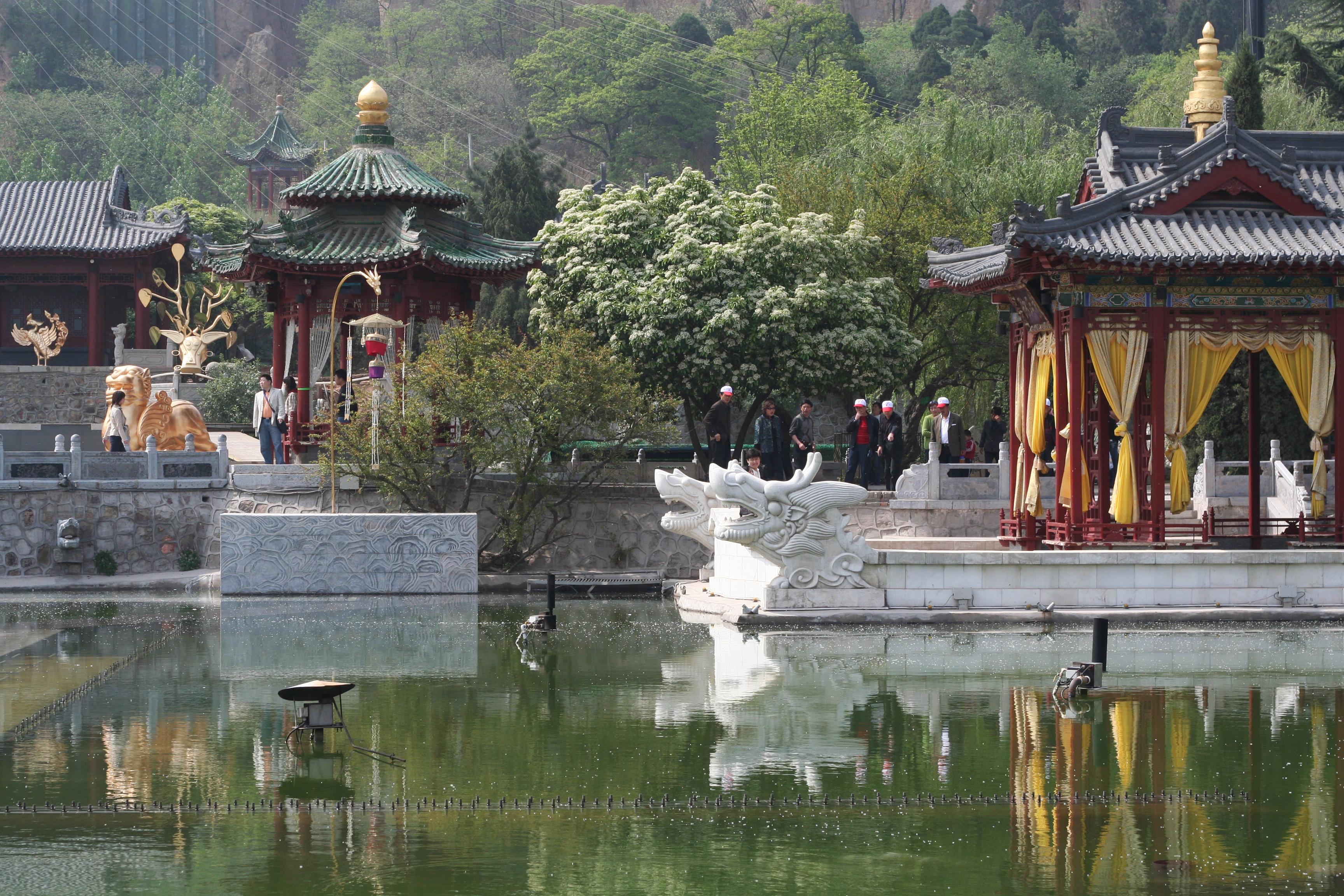 Hua Ching or Hua Qing or Huaqing Palace Garden