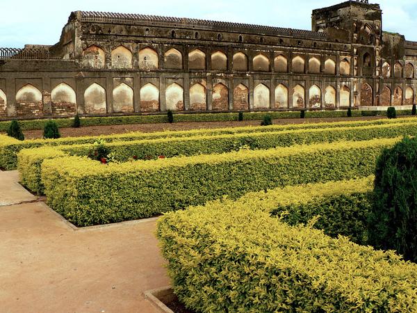 Bidar Palace Gardens Amit Chattopadhyay