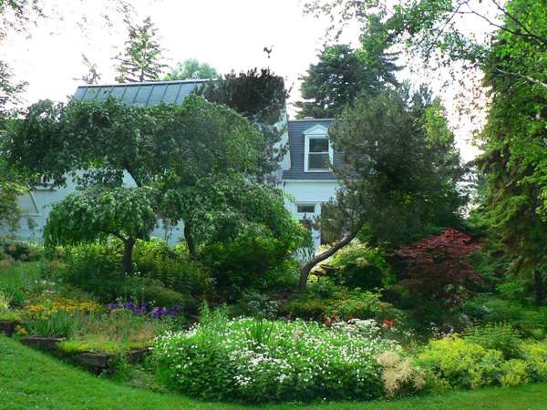 Maison Chenier Sauve Jardin de Maison Chénier-Sauvé