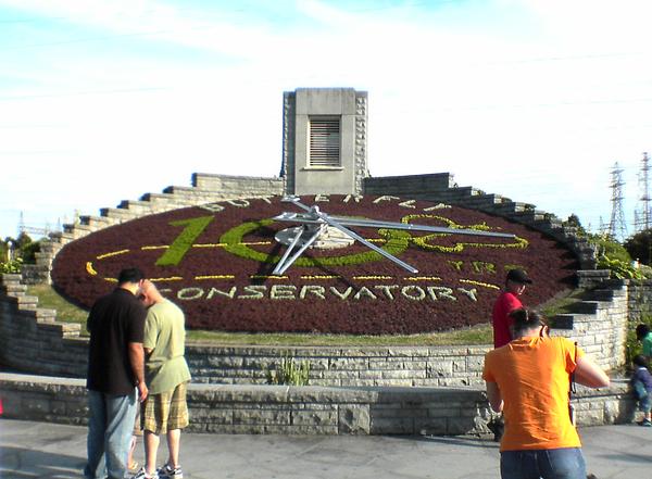 Niagara Parks Floral Clock and Gardens Rudy E. Escoto
