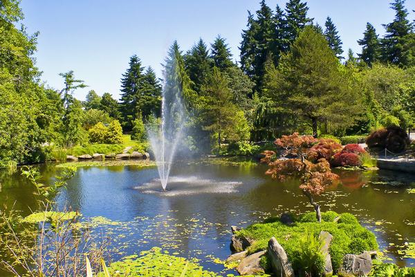 VanDusen Botanical Garden Peter M Graham