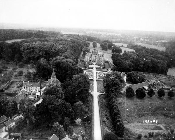 """Chateau de Balleroy """"Conseil Régional de Basse-Normandie / National Archives USA"""""""