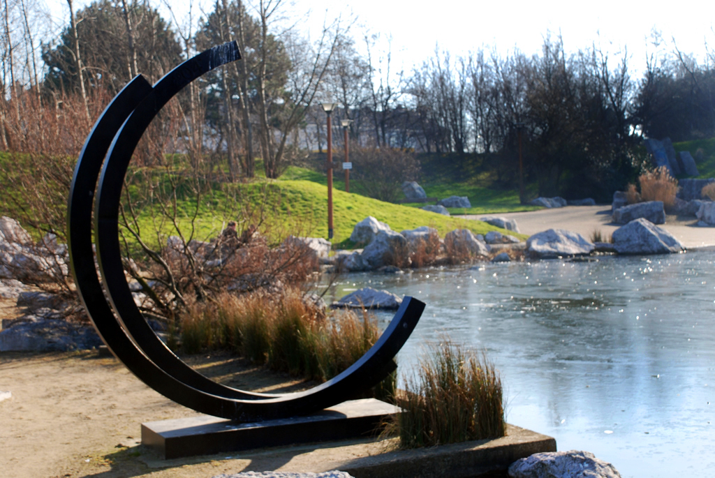 sculpture contemporaine jardin Jardin De Sculptures Musee Du0027Art Contemporain Bruno Parmentier