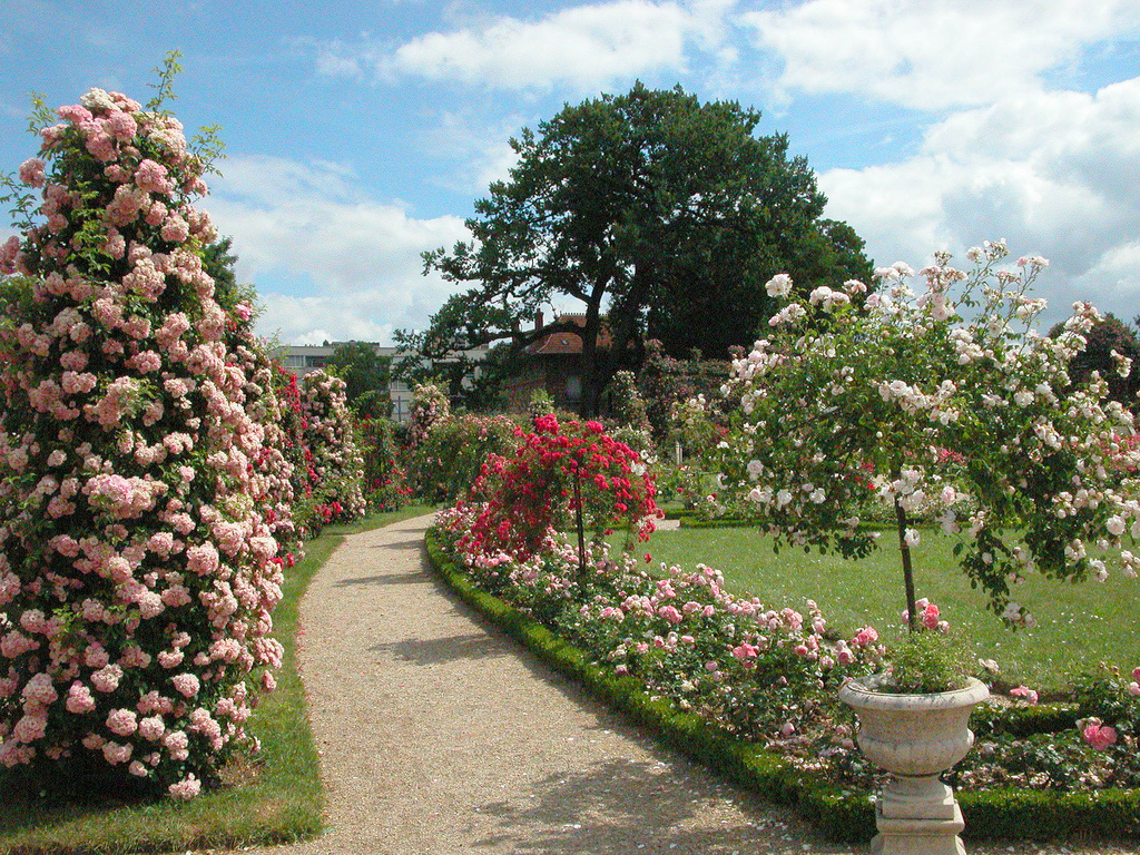 Roseraie du val de marne roseraie de l 39 ha - Les jardins du val de moselle ...