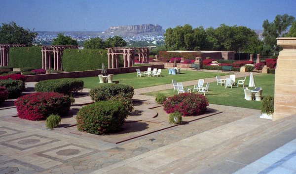Umaid Bhawan Garden Dan Lundberg