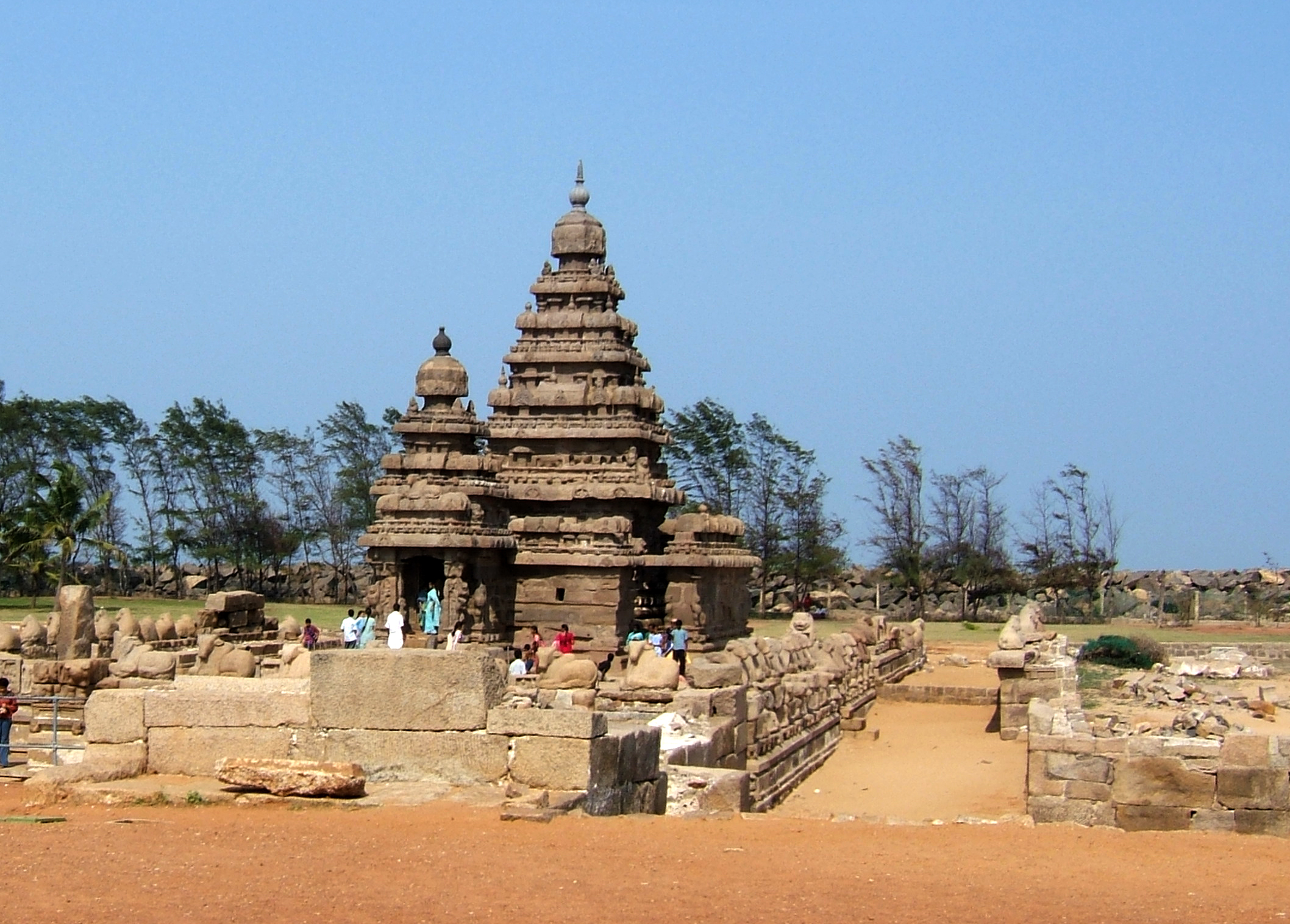Mamallapuram Shore Temple Andy Hay