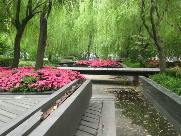 Lujiazui Park, Pudong Zach Ware