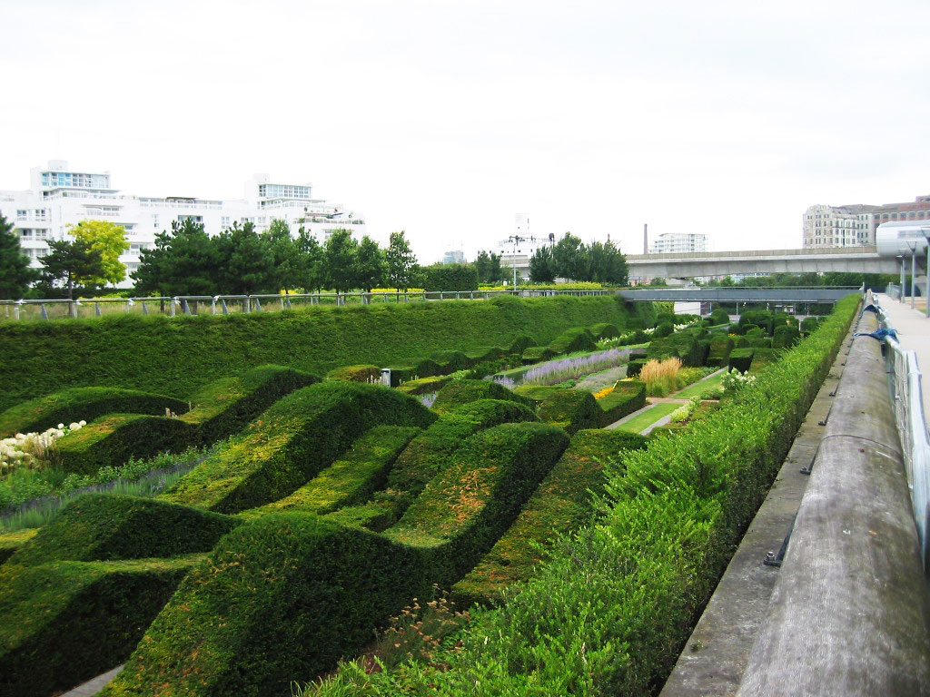 Thames Barrier Park, London