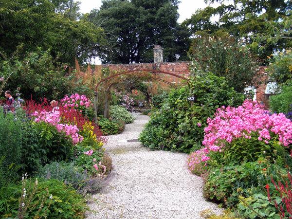 Leighton Hall Garden, Lancashire